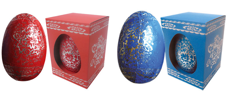 Personalised Foiled Boxed Easter Egg