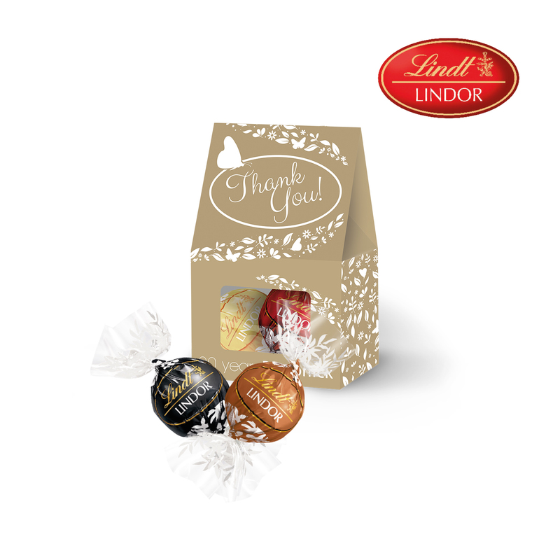 Personalised Lindor Duo Gift Pouch