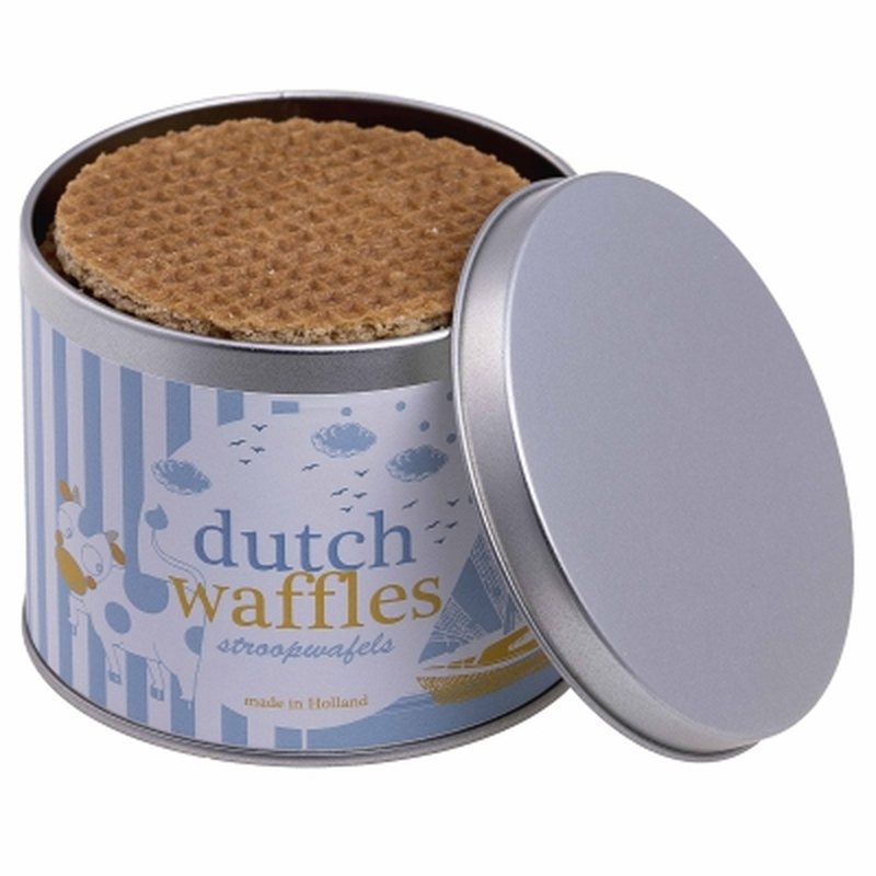 Personalised Tin of Dutch Waffles