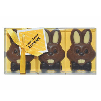 Novelty Gift Box With Luxury Chocolate Easter Bunnies