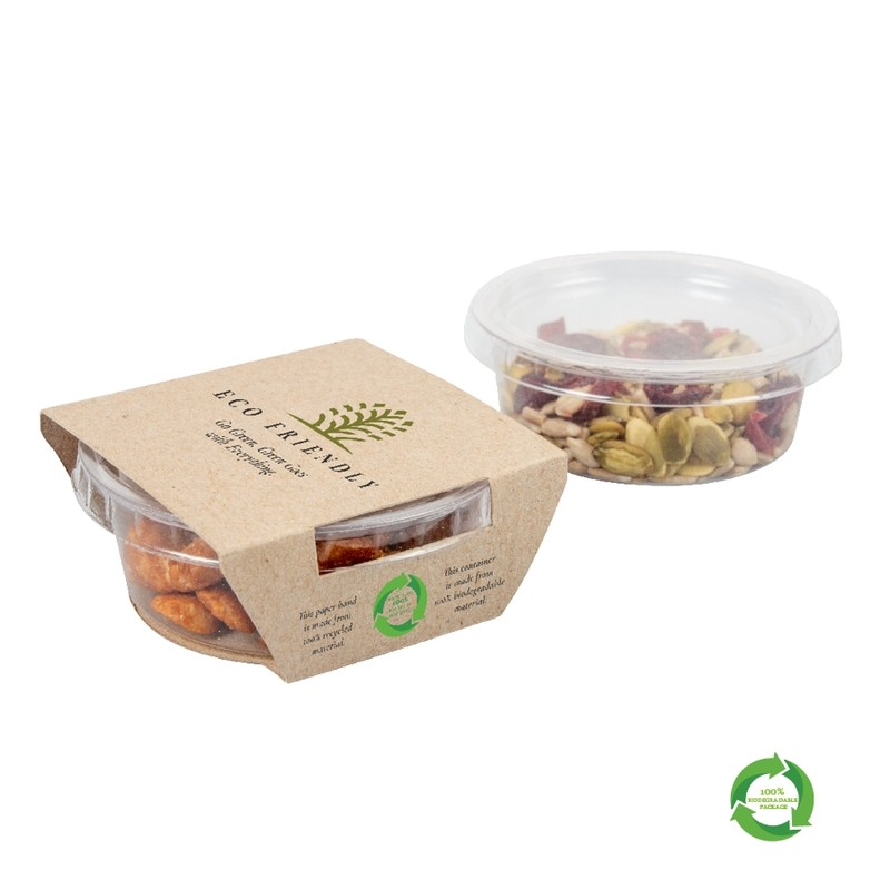 Biodegradable Personalised Snack Pot