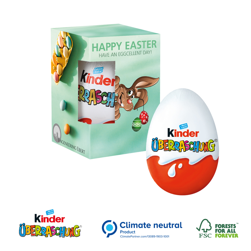 Personalised Kinder Egg in Gift Box