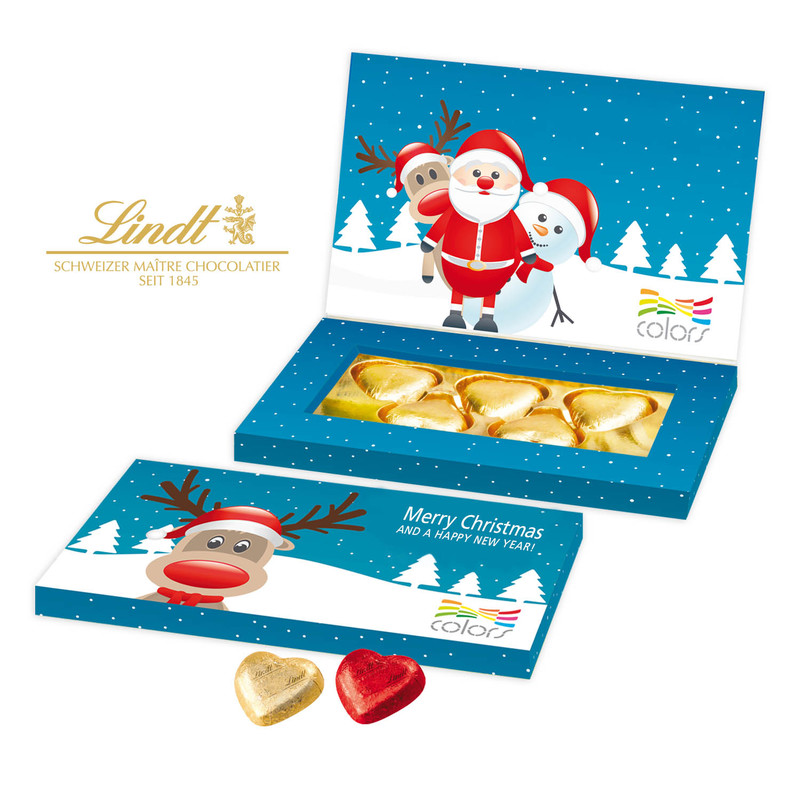 Personalised Lindt Business Presentation Gift Box