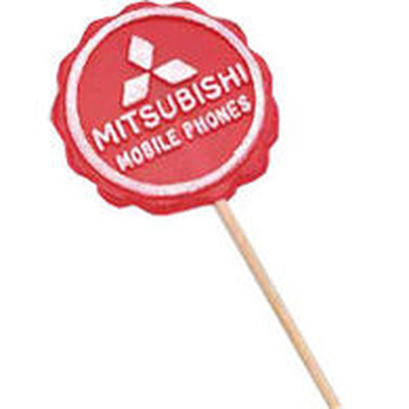 Large Logo Lollipops