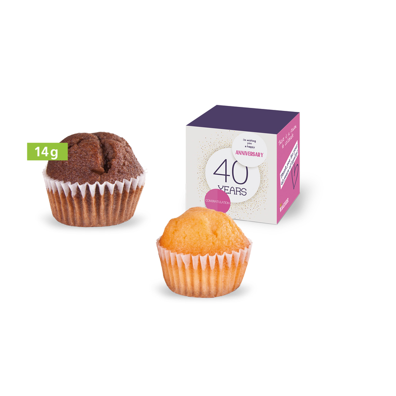 Personalised Mini Muffin in a Box