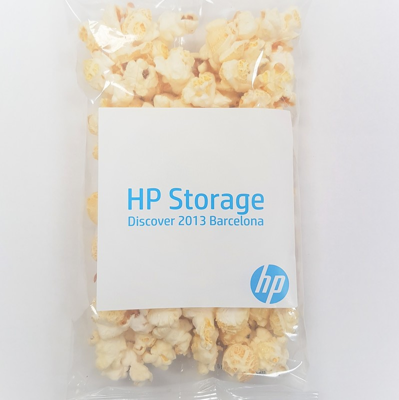 Personalised Bags of Popcorn