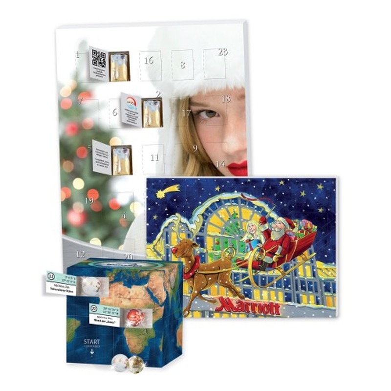 Personalised Picture Advent Calendar - Printing Behind Windows