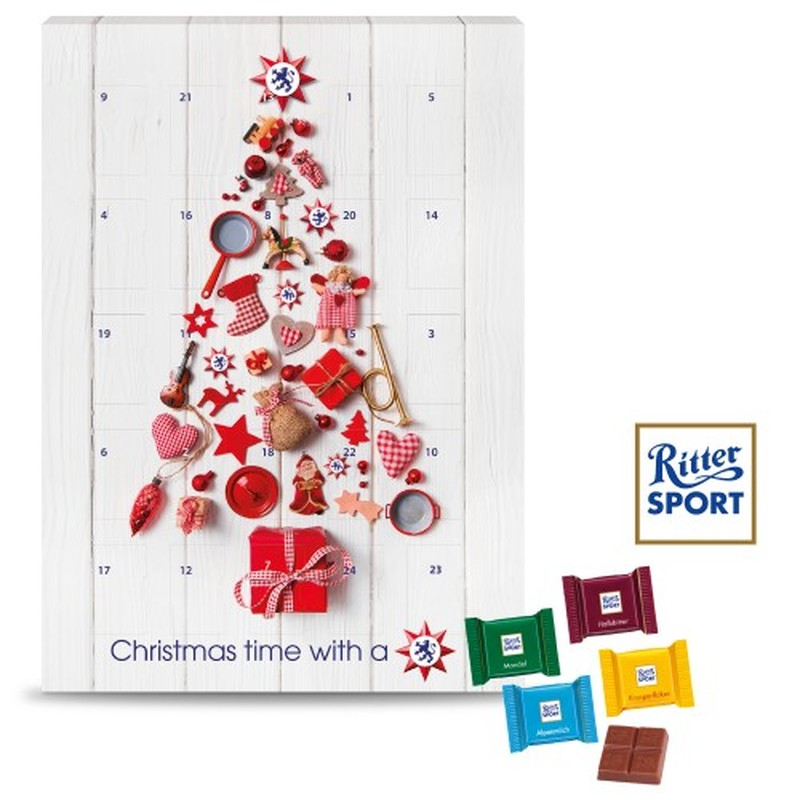 Ritter Sport Personalised Wall Advent Calendar