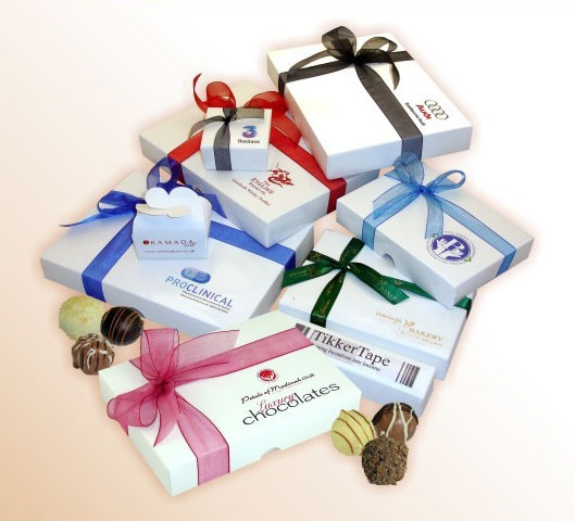 Personalised Gift Boxes with Luxury Assorted Truffles
