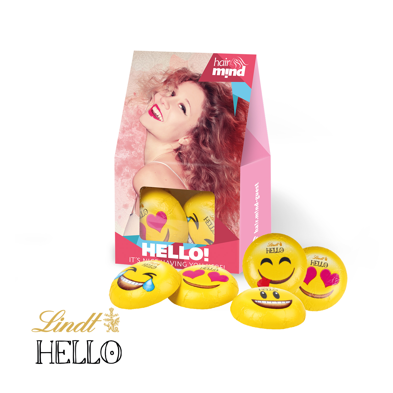 Personalised Lindt Emoji Presentbox | New Products - Distinctive