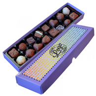 Luxury Personalised 16 choc Truffle Box