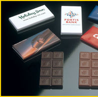 Personalised 30g Belgian Chocoalate Bar