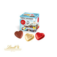 Personalised Lindt mini cubes of chocolate