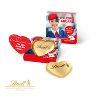 Personalised Lindt Heart in Gift box