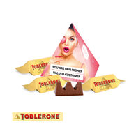 Personalised Toblerone Mini Pyramid