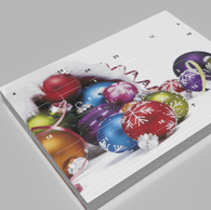Small Desktop Chocolate A5 Advent Calendar