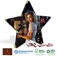 Star shaped Sarotti Advent Calendar