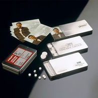 Business Card Tin with Mints