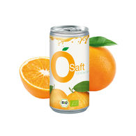 Personalised Organic Orange Juice Can
