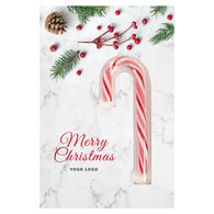 Promotional Christmas candy cane