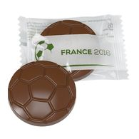 Promotional Chocolate Football Flowpack
