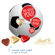 Lindt Football Themed Personalised Business Card