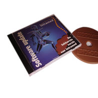 Chocolate CD in Personalised Case