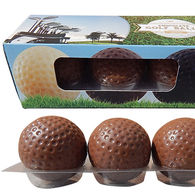 Chocolate Golf Balls in Personalised Gift Box