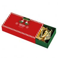 Christmas personalised French truffle box
