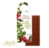 Lindt Chocolate Bar in Personalised Box with Handle
