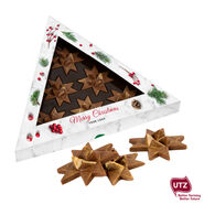 Personalised Christmas Triangular Chocolate Gift Box
