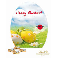Promotional Easter Egg Shape Lindt Chocolate Calendar