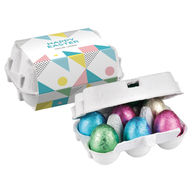 Personalised Mini 6 Easter egg carton