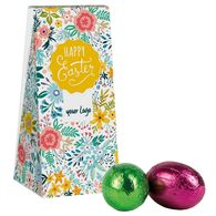 Personalised small Easter egg gift sachet