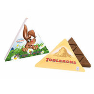 Promotional Easter triangular Toblerone Box