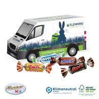 Personalised Mini Mars Easter van
