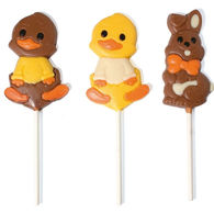 Belgian Chocolate Easter Lollipops