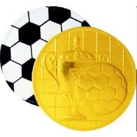 Personalised Moulded Football Coin
