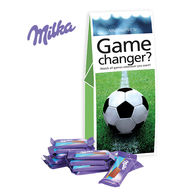 Personalised Milka Football Presentation Bag