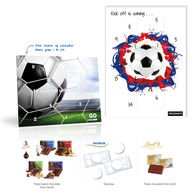 Personalised Football Countdown Calendar