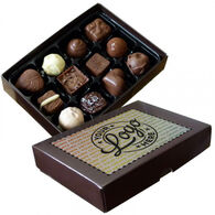 Luxury Personalised 12 choc Truffle Box