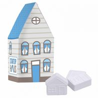 Personalised House Box with House Shaped Mints