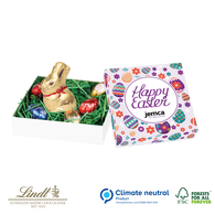 Lindt Personalised Easter Bunny and Egg Box