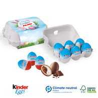 Personalised Kinder mini Easter egg cartons