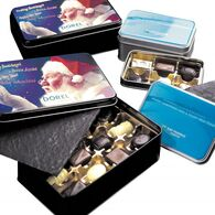 Leonidas Chocolate Tin Gift Box - 12 Pralines