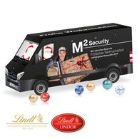 Lindt Personalised 3D Van Shaped Advent calendar