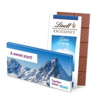 Lindt promotional 100g milk chocolate bar