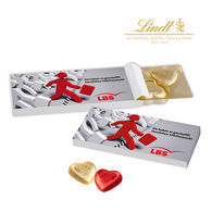Personalised Lindt Valentines Heart Box