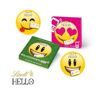 Personalised Lindt Emoji Single Gift Box