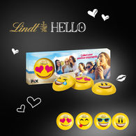 Personalised Lindt Emoji Trio Box